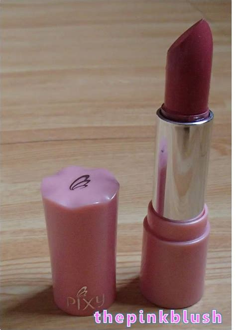 Pixy Silky Fit Lipstick Satin bdj box unboxing my april 2014 bdj box blossoms the pink blush