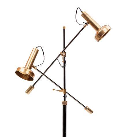 Modern Triennale Floor Lamp Milano in Brass   Stardust