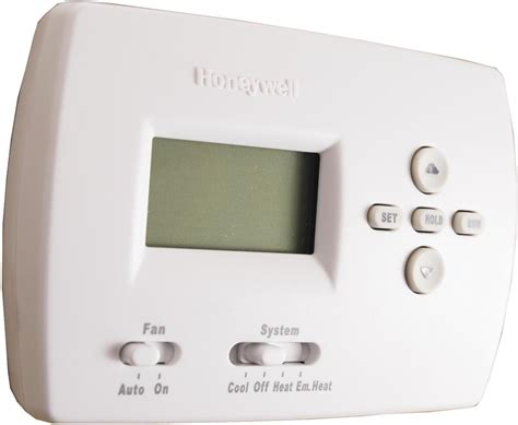 Honeywell TH4210D1005 PRO 5 2 Programmable Thermostat With Pull Out Instructions