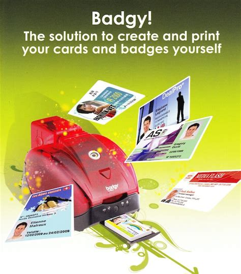 badgy card templates evolis badgy id card printer