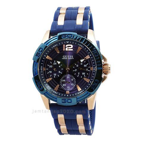 Jam Tangan Guees Rubber harga sarap jam tangan guess oasis w0366g4 blue rubber