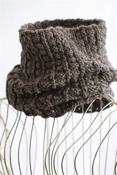 knit scarf pattern medium yarn sailor s rib cowl allfreeknitting com