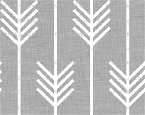 grey arrow pattern arrows light grey fabric holli zollinger spoonflower