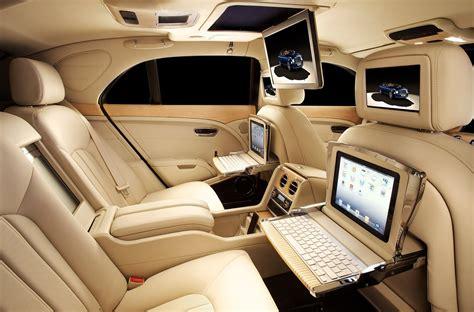 Bentley Mulsanne Interior Bentley Mulsanne Offers State Of The Multimedia