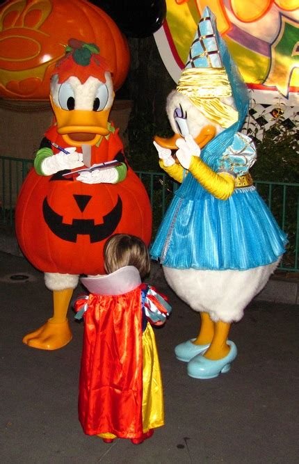 here are some costumes from mickeys halloween party at mickey s not so scary halloween party tips build a