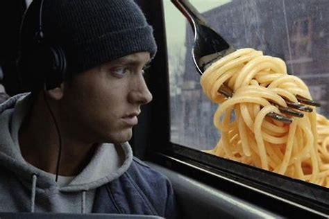 eminem mom spaghetti eminem sells mom s spaghetti at detroit pop up hot 106 1 fm