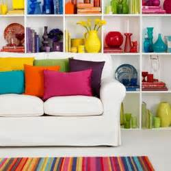 bright home decor rainbow bright living room decorating with colour housetohome co uk