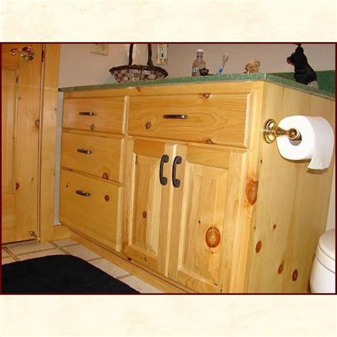 custom built wood bath vanities rustic and traditional