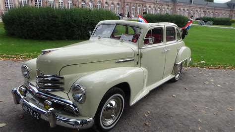 1952 Opel Kapit 228 N Cabriolimousine Exterior And