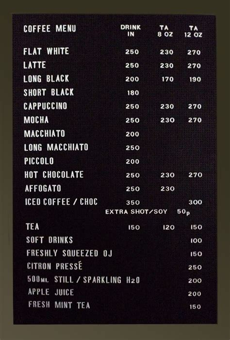white cafe menu 17 best images about coffee flyer on i drink coffee illustration and