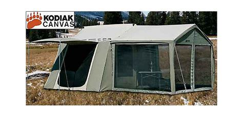Tents With Awnings by Kodiak Canvas Cabin Tent With Awning Cabela S