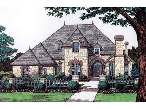 Chateau Home Plans Chateau 4 Bedroom 2 Story House Plans