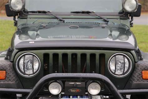Jeep Wrangler Bug Deflector All Things Jeep Bug Deflector Rugged Ridge Jeep