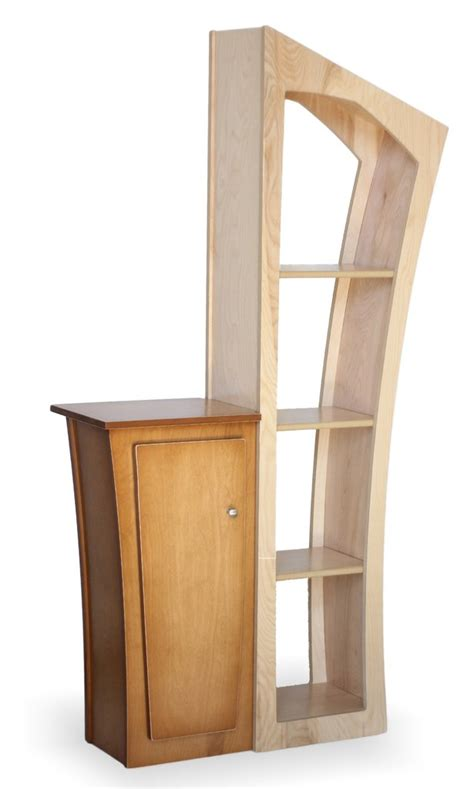 reversible stacked bookcase and base cabinet dust furniture