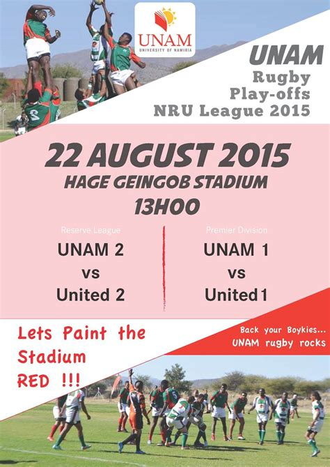 Loans For League Mba by Of Namibia Unam Rugby Play Offs Nru League 2015