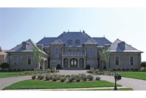 eplans chateau house plan grand manor 8126 square