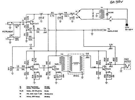 transistor guitar lifier schematic index of schematics s gibson