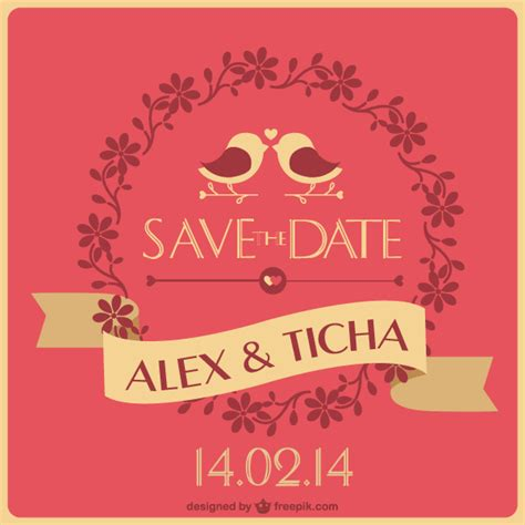 save the date wedding invitation template for free download on pngtree