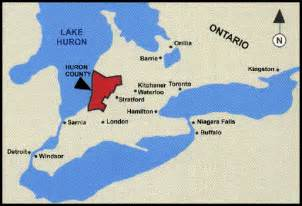 lake ontario canada map bayfield ontario maps