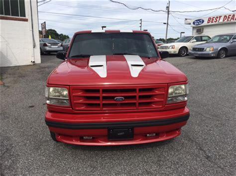 ford lighting svt for sale 1993 ford f 150 svt lightning for sale carsforsale com
