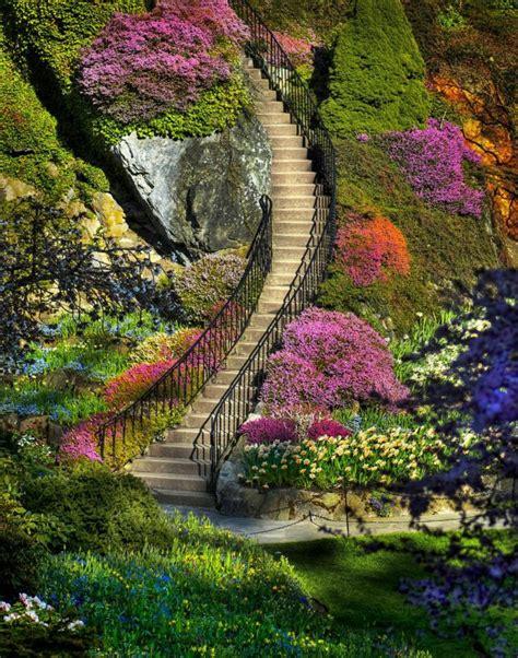 showme nan butchart gardens stairway