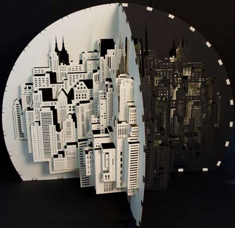 Make A 3d Paper City - paper architecture by ingrid siliakus shelby white the