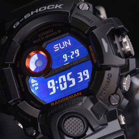 Holder Keeper G Shock 24 Mm Gw 9400 g shock rangeman multiband 6 solar black gw 9400bj 1jf ebay