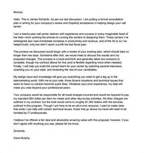 Consulting Letter Template Sle Consultant Template 6 Free Documents In Pdf