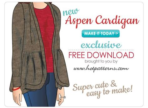Exclusive Basic Cardi 9w5k free pattern casual and cardigan pattern on