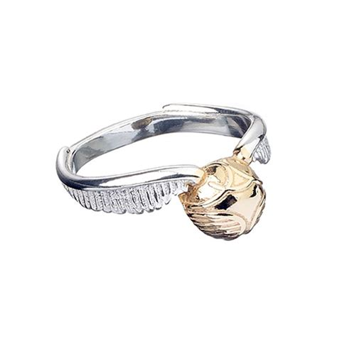 Official Golden Snitch Ring   The Carat Shop