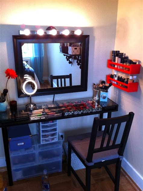 Bathroom Vanity With Makeup Area » Home Design 2017
