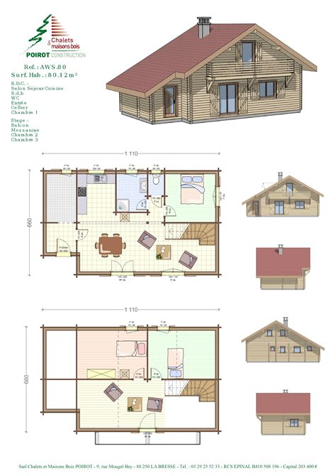 chalet plans plan maison sims 2 studio design gallery best design