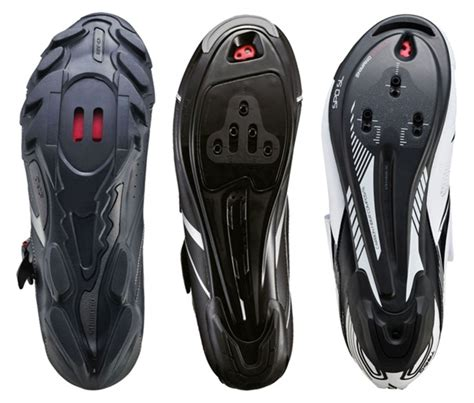 types of bike shoe cycling pedals and cleats buying guide wiggle guides