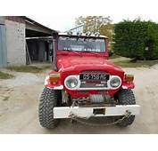 TOYOTA LAND CRUISER Serie 04 BJ40 4x4 Rouge Occasion  7 800 € 36