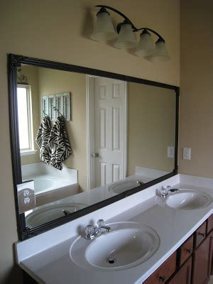 Bathroom Mirror With Electrical Outlet Bathroom Mirror Fix Diy Shanty 2 Chic