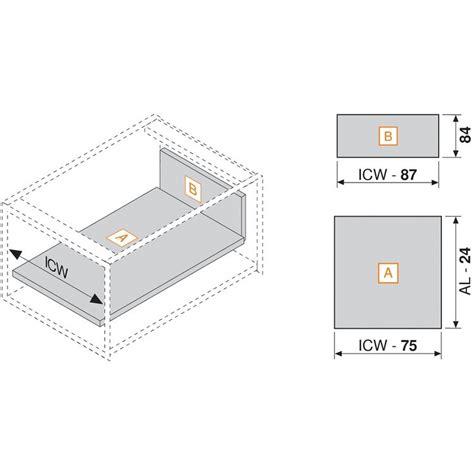 blum drawer glide sizes blum 358m3502sa 14 quot tandembox 358m drawer side 3 3 8