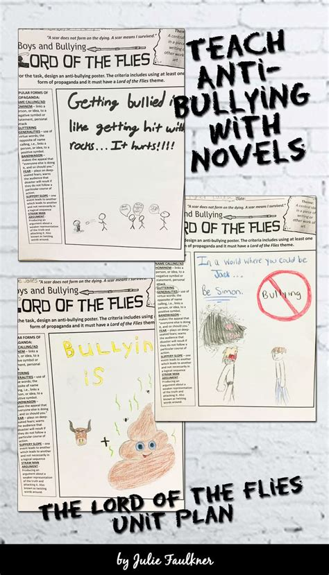 lord of the flies bullying theme best 25 anti bullying lessons ideas on pinterest