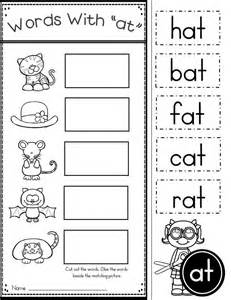 Free Printable Word Family Worksheets For Kindergarten by 25 Best Ideas About Word Families On Word