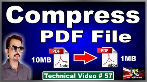 compress pdf maximum how to compress pdf file size in hindi 57 youtube