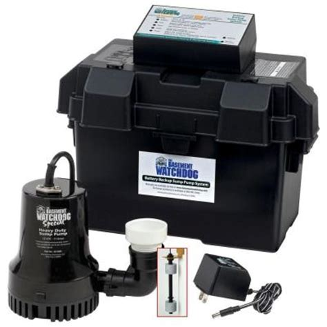 null special battery backup sump system