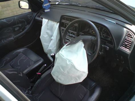 airbag deployment 1984 ford ltd security system inventos ingeniosos el airbag el tamiz
