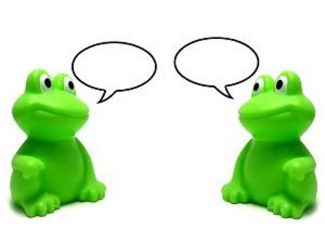 Colors That Color Blind Can See Frogs Pair Talking Each Other Download Free Animals Photo