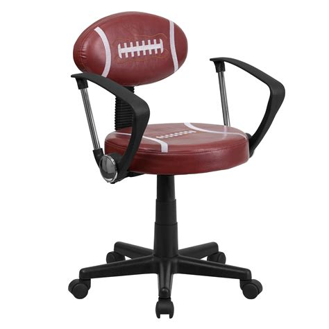 Football Chair by Flash Football Task Chair With Arms By Oj Commerce Bt 6181