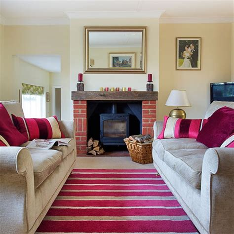 traditional living room ideas uk traditional living room with pink accents decorating housetohome co uk