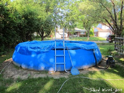 how much to level a backyard pool level ground and setup 2014