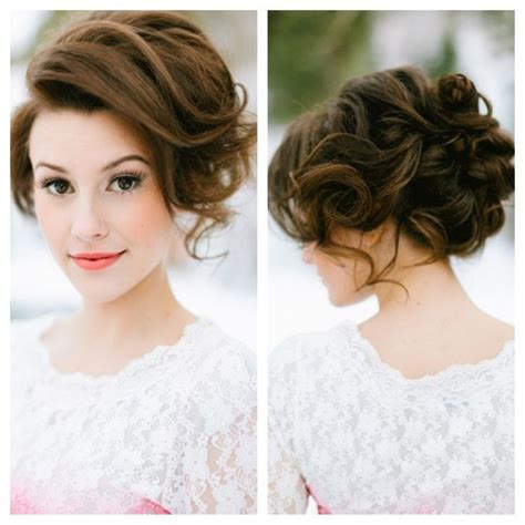 Bridesmaid Hairstyles Updo by 32 Overwhelming Bridesmaids Hairstyles Pretty Designs