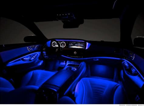 Mercedes Interior Lights by Dazzling Light Show Mercedes S Class Closest Thing Yet