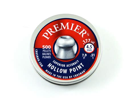 Premier Hollow Point 4 5 Mm 蝴rut crosman premier hollow point kal 4 5 mm