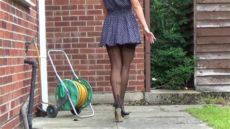 vidio jupe bas couture talons aiguilles mini jupe youtube