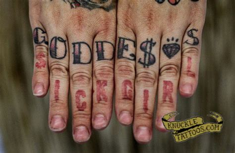 knuckle tattoo decker knuckletattoos